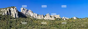 Europe, France, rŽgion Occitanie, 66 - PyrŽnŽes Orientales, commune de Duilhac, le ch‰teau de Peyrepertuse